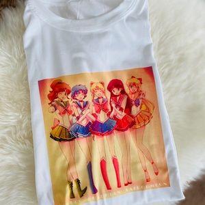✨Sale✨New Cute Sailor Moon Graphic T-shirt